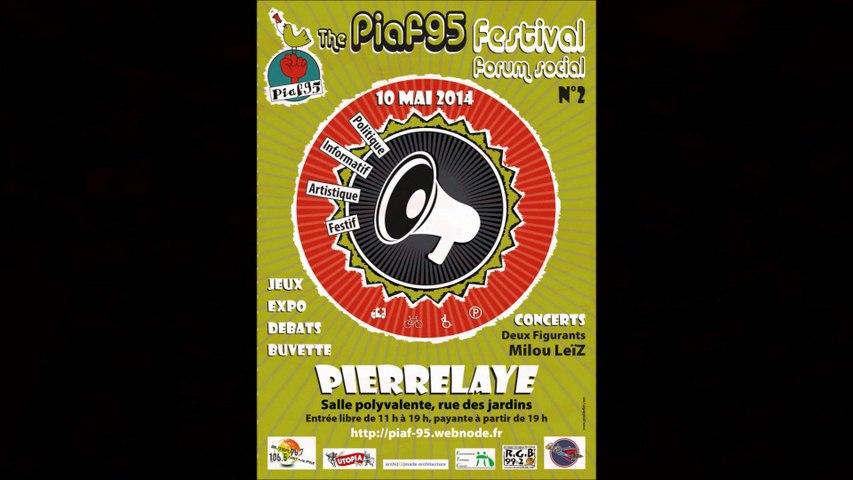 Festival-Forum Social PIAF 95 - 10 Mai 2014.