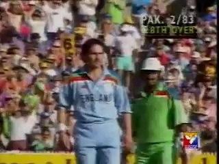 Pakistan vs England  Cricket World Cup 1992 Final highlights
