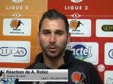 (J38) Laval 0-0 Metz, réaction de A. Robic