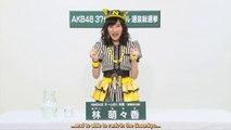 [TEPPEN] 37th Sousenkyo Appeal - Hayashi Momoka