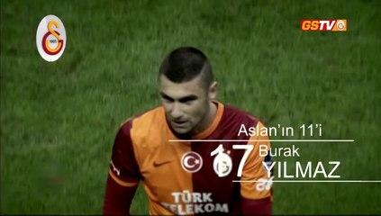 Aslan'ın K.Erciyesspor maçındaki ilk 11'i
