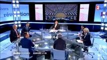 Philippe Poutou dans Mots Croisés sur France 2