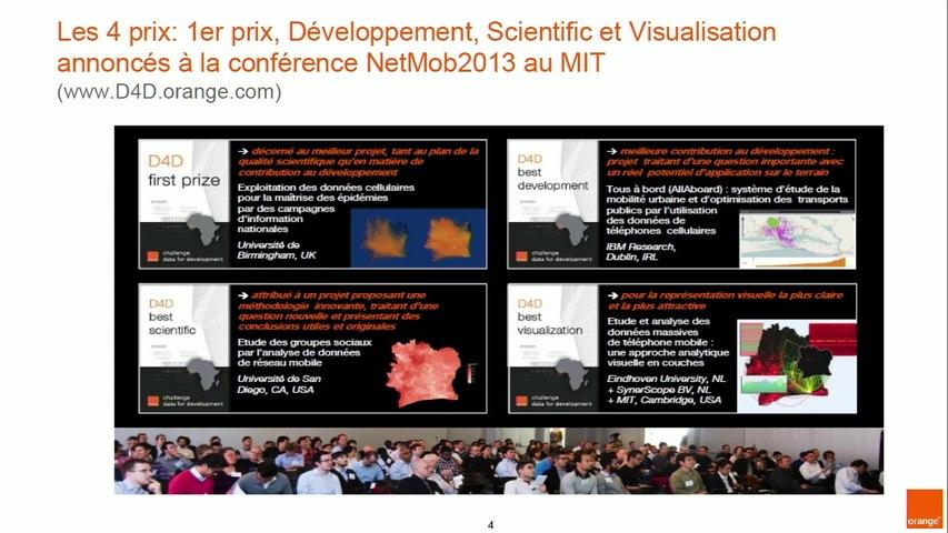 """Nicolas de Cordes : Challenge """"Data for Development"""" à la Conférence de Paris"""