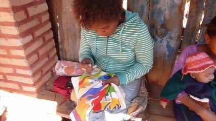 Les broderies à Madagascar