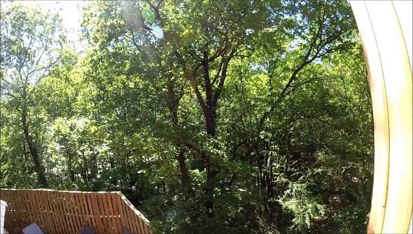 Manoir dans les arbres 10 personnes DéfiPlanet