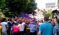 Les supporters d'Anderlecht exultent, Anderlecht est champion !