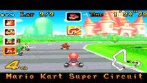 Mario Kart Super Circuit Android Gameplay GBA Emulator