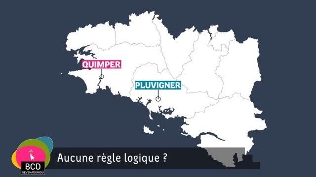 Breton, prononciation des noms de lieux