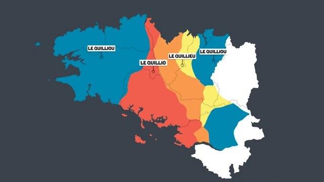 Breton, évolution des dialectes