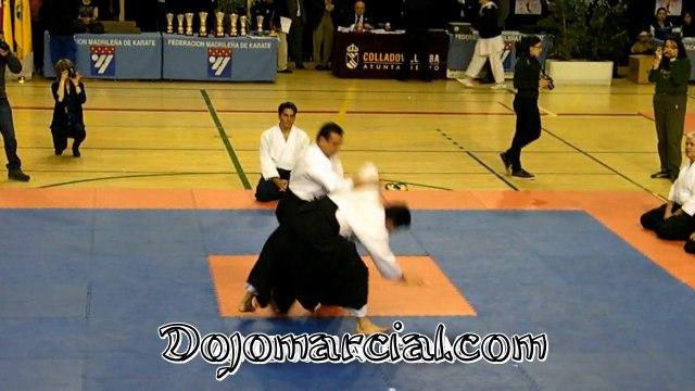 Demostración de aikido - Aikido demonstration - Demonstração de Aikido - Démonstration d'aïkido