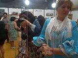 Feria de Jerez 2014 con Maria y Hugo, Maria bailando sevillanas