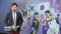 Korean university players sweep Japan