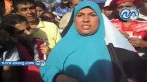 مؤيدة للسيسى : باسم يوسف يا جبان قولى أوباما دفعلك كام بالمنوفية