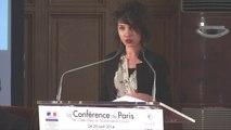 Caroline Goulard pour DataVeyes à la Conférence de Paris