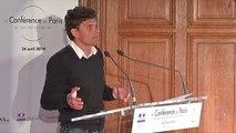 """Pierre Pezziardi, """"Open Data et Territoires"""" à la Conférence de Paris"""