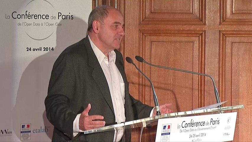 Discours de Jean-Louis Missika à la Conférence de Paris
