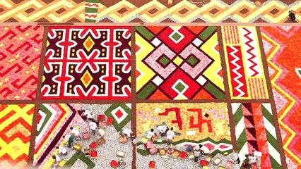 VISITBRUSSELS: Tapis de Fleurs - Bloementapijt - Flower Carpet in Brussels