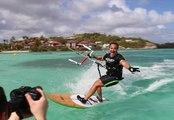 José Garcia kitesurfing in Martinique - Kitesurf