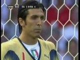 Zidane France-Italie panenka incroyable.