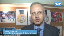 Exposition photographique à Rabat reconstituant les JO d'hivers à Sotchi en Russie