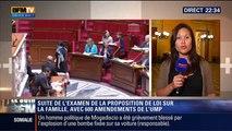 Le Soir BFM: Loi famille: l'examen du texte commence à l'Assemblée sous des tirs croisés - 19/05 1/4