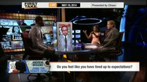 Andrew Wiggins Joins First Take