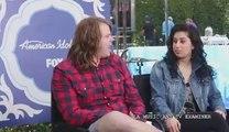 American Idol Top 3: Caleb Johnson and Jena Irene press conference 5-19-2014