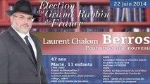 Rabbin Berros pour un souffle nouveau selon François Pupponi député maire de Sarcelles