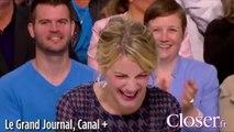 Le Grand Journal : Antoine de Caunes se trompe dans le nom de Mélanie Laurent
