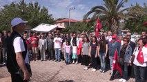 SİBEL UYAR Urla Belediye Başkanı 19 Mayıs Atatürk'ü Anma Gençlik ve Spor Bayramı için Urla Cumhuriyet Meydanı'nda gerçekleştirilen törene katıldı.