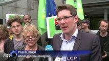 Européennes: la finance, toujours l'ennemie d'Eva Joly (EELV)