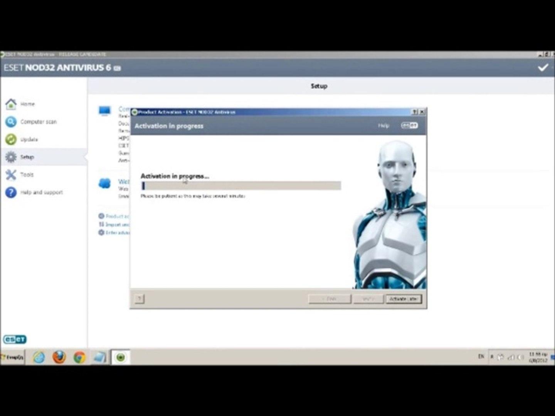 eset nod32 antivirus 7 activation key lifetime