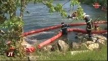 Divonne-les-Bains : pompiers français et suisses en exercice