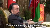Mr. Adnan Oktar: The word mourning is used in the sense of respect, not in the sense of being frantic with sorrow, grieving, weeping. Anything contrary would- may God forbid- mean not being pleased with what God created.