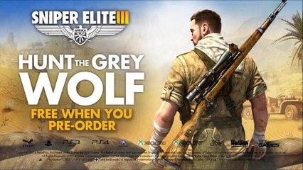 Hitler DLC Trailer de Sniper Elite 3: Afrika