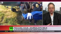 Kiev accuses Russian journalists of aiding terrorists, State Dept parrots claims
