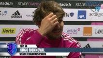 Coupe d'Europe avant match Stade Français- London Wasps - DUBOIS-CAMARA-BONNEVAL