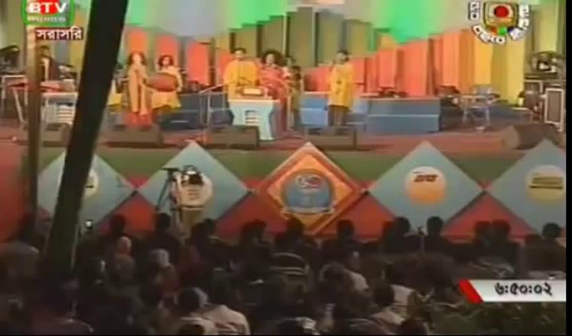 btv 50 years furti abdul kuddus boyati live bangla baul