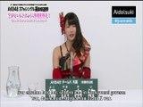 [Aidolsuki] Sousenkyo 2014 Yokoyama Yui Werbevideo Ger Sub