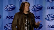 Caleb Johnson l Backstage After Being Crowned American Idol l FULL INTERVIEW