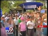 Arvind Kejriwal Taken to Tihar Jail in Defamation Case, Supporters Protest - Tv9 Gujarati