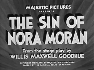 The Sin of Nora Moran (1933) Zita Johann