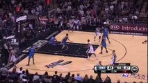 Manu Ginobili AMAZING Cross Court Pass vs OKC - Game 2 (1)