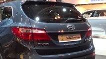 Hyundai Grand Santa Fe at Madrid Motor Show 2014