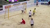 Marca uno de los goles del año en fútbol playa