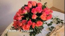 Vidéo : comment faire un bouquet rond ?