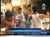 Thieves were Severely Beaten by Citizens in Gujranwala and Multan