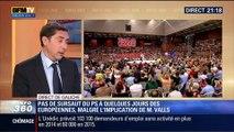Direct de Gauche: Européennes: Malgré l'implication de Manuel Valls, le PS ne remonte pas dans les sondages - 22/05