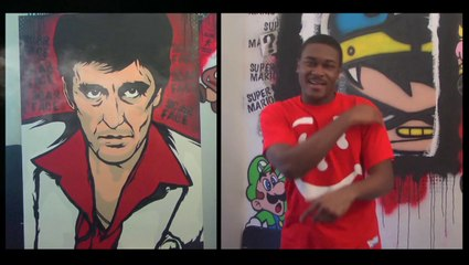 SCARFACE RAP AND PAINTING