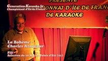 Fifi  - Soirée de sélections du championnat d'île-de-France 2014 de karaoké au Palais d'été (Ris Orangis, 93) - Interprétation de Fifi